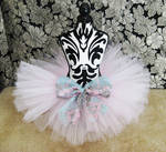 Pale Pink Tutu Skirt with Bow