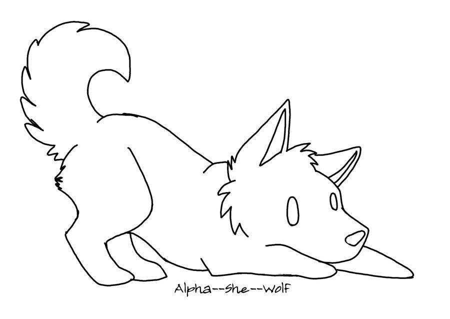 Chibi Wolf Base Chibi Wolf 1 by
