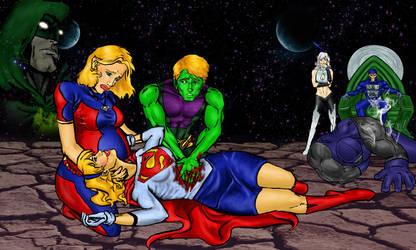 Superwomen Progress II by LoneLantern