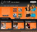 DJ Luis Web Template