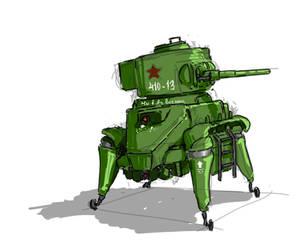 BT-5 in color by Panzermeido