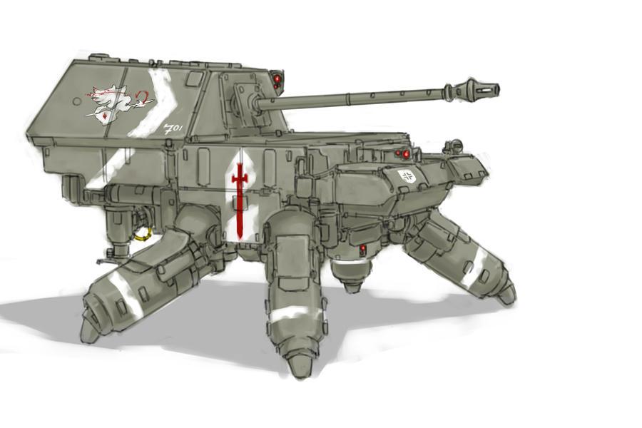 Panzerjager::Ferudinando by Panzermeido