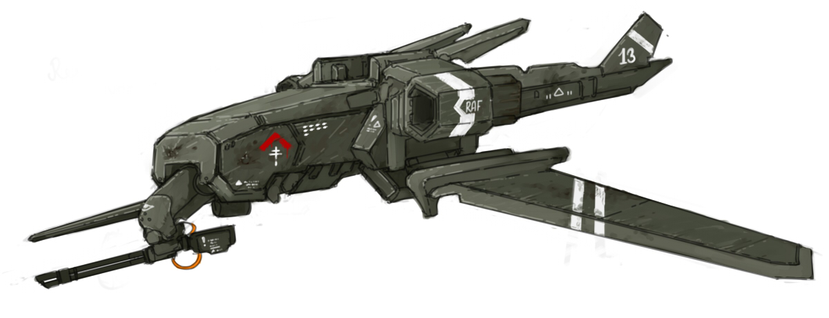 """RAF UAV-S """"WorkingBee"""" by Panzermeido"""