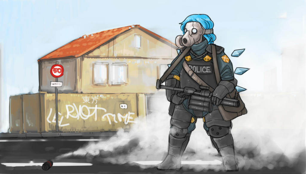 Riot by Panzermeido