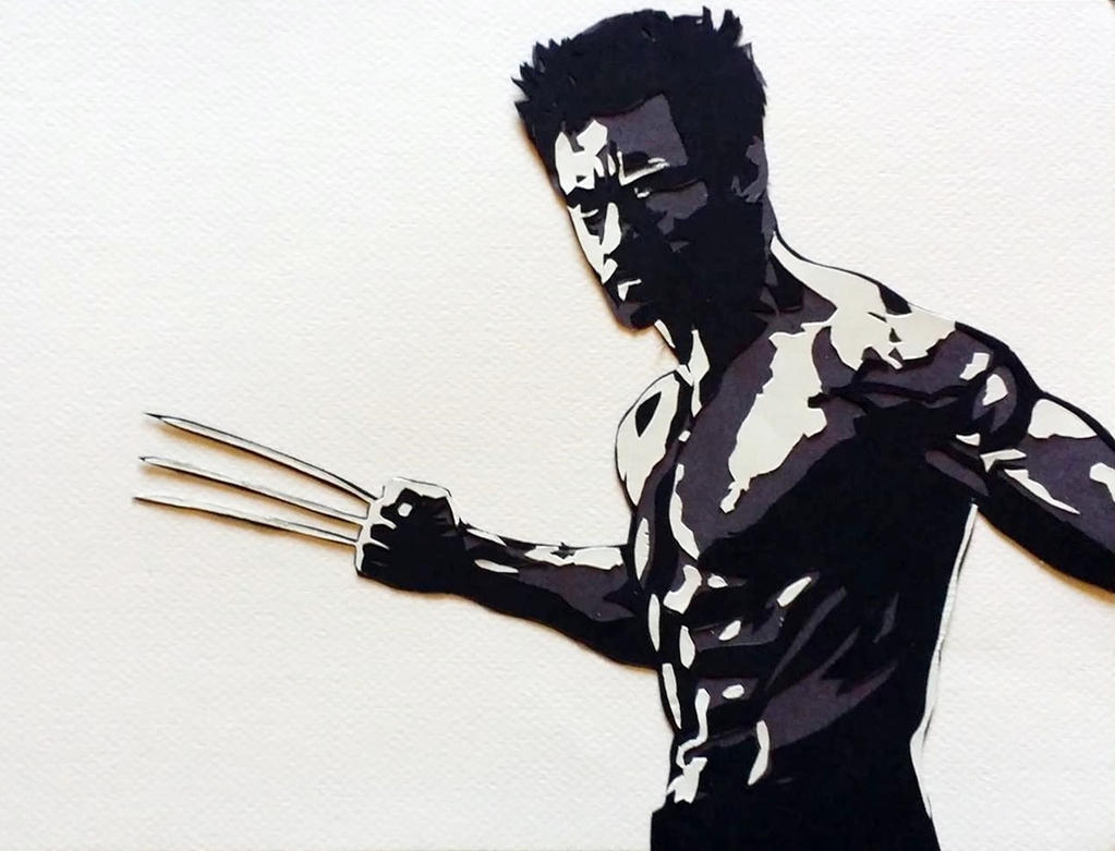 Wolverine - Paper Cut by StrandedAutumn