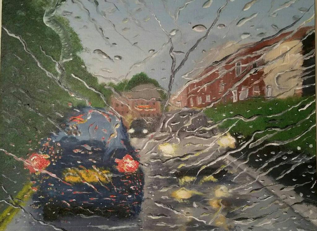 'Rainy Day'  by StrandedAutumn