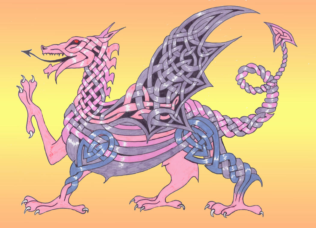 celtic dragon 2 by NotNowImBusy