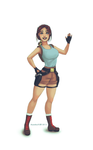 Oldschool Lara