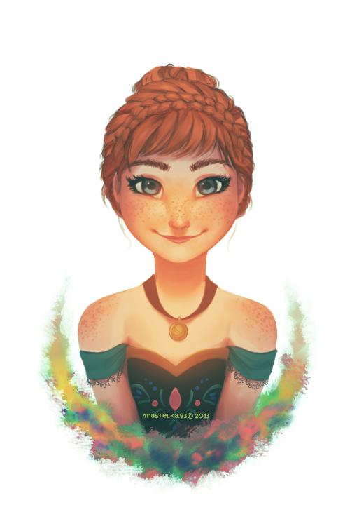Princess of Arendelle by Mustelka93