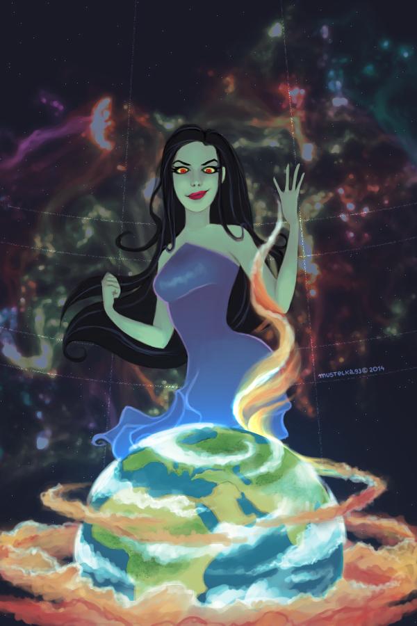 Goddess of Discord by Mustelka93 on DeviantArt