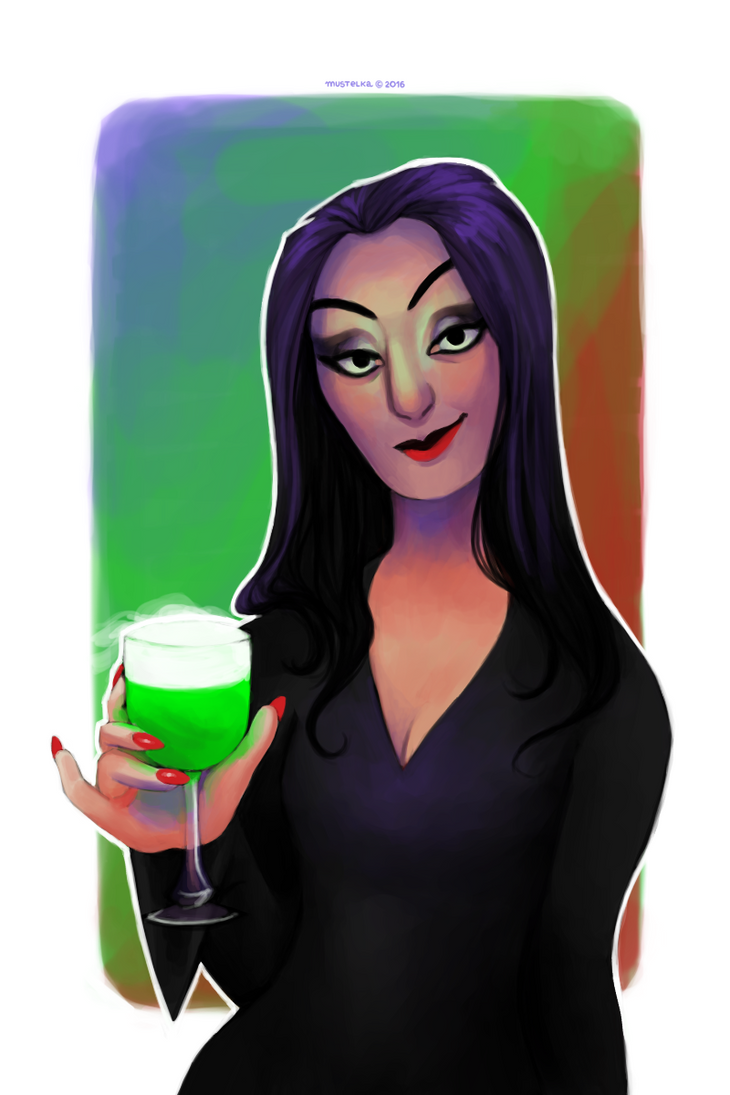 Morticia. by Mustelka93