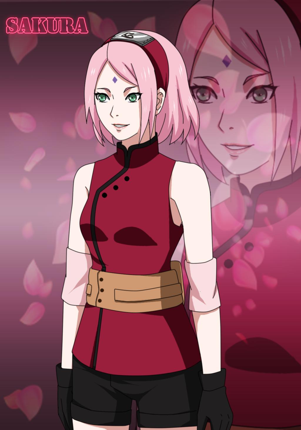 Sakura haruno new hairstyle from the new movie | Undertow