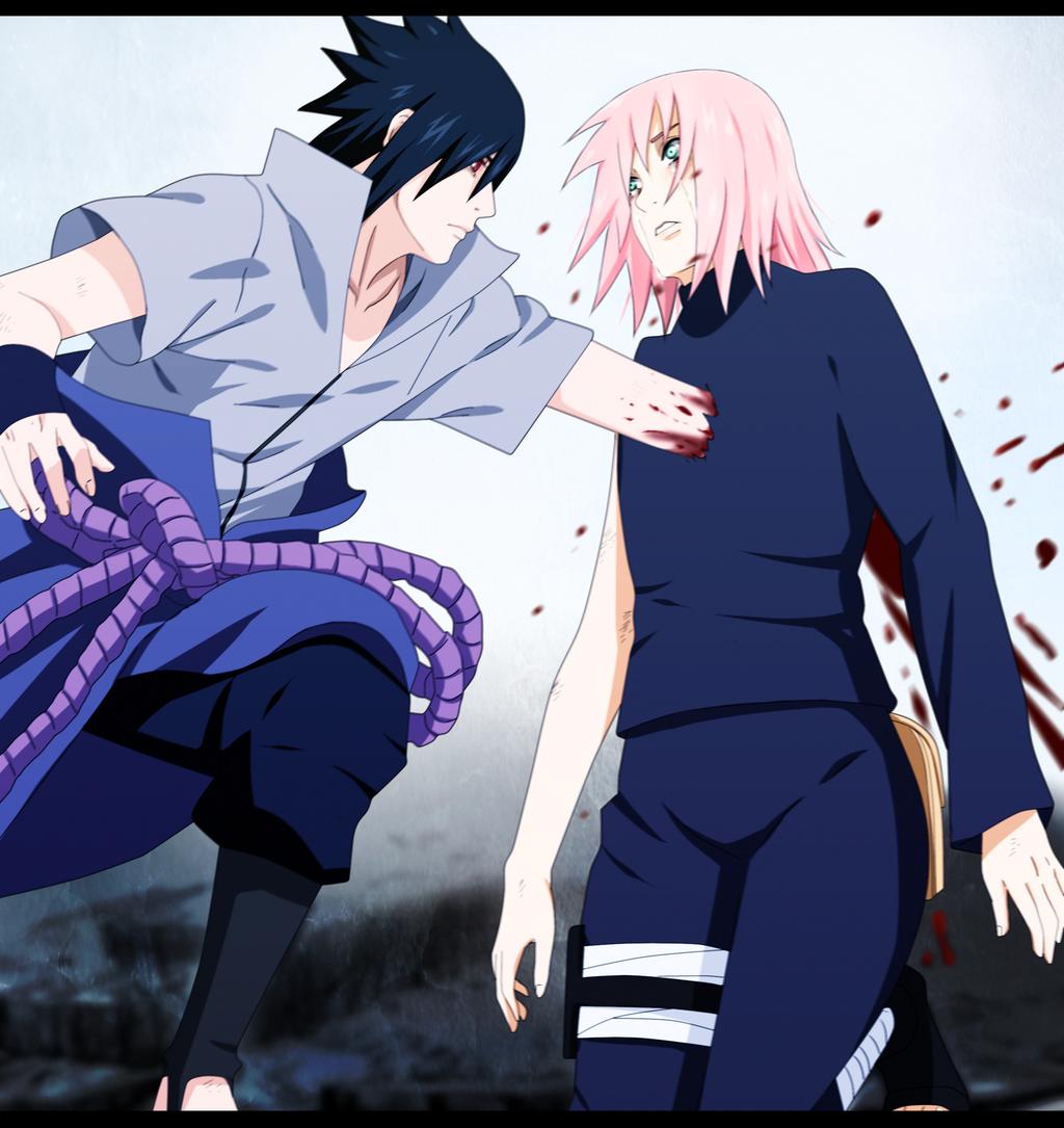 Naruto y saska hentai