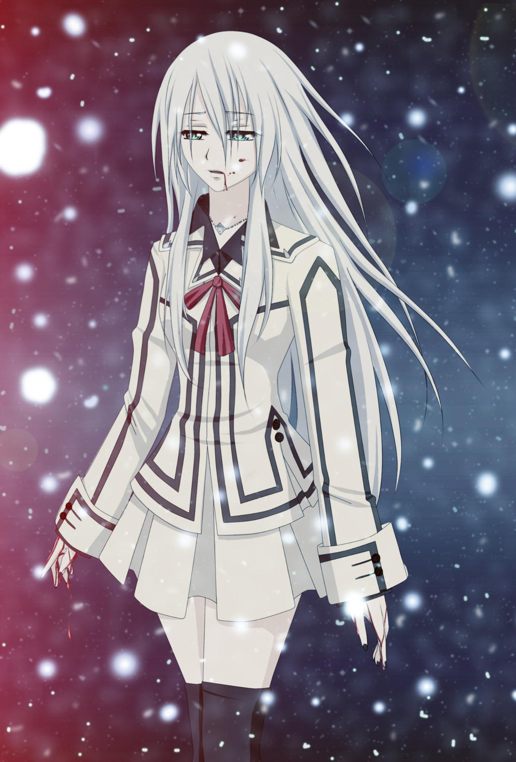 Anime Characters Vampire Knight : Vampire knight oc by whiterabbit on deviantart