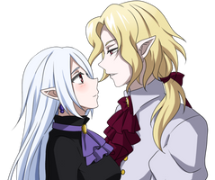 Comission: Lestat and Kordelia