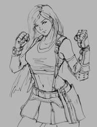 Quick Tifa Sketch