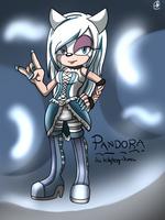 .:Pandora The Hedgehog-demon:. by Rubisha