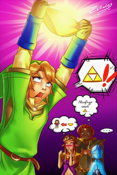 The Legend of Zelda: Tripants by Zelbunnii