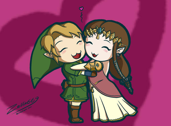 ZeLink 4ever 2gether by Zelbunnii