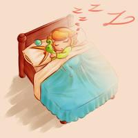 Minish Cap: zzzzzzz by Zelbunnii