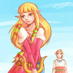 Skyward Sword: love will find a way