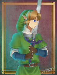 Skyward Sword: The Sword and its Master by Zelbunnii