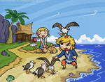 Collab with Starfoch - Wind Waker: Outset Siblings