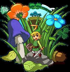 Zelda: The Minish Cap by Zelbunnii