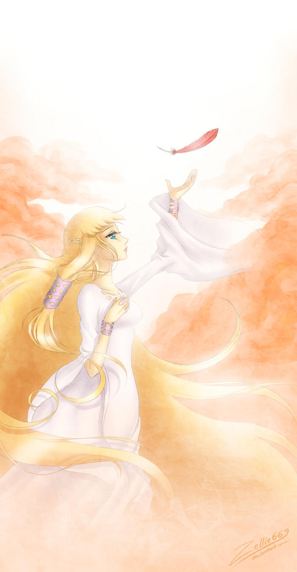 Skyward Sword Zelda: Fly by Zelbunnii