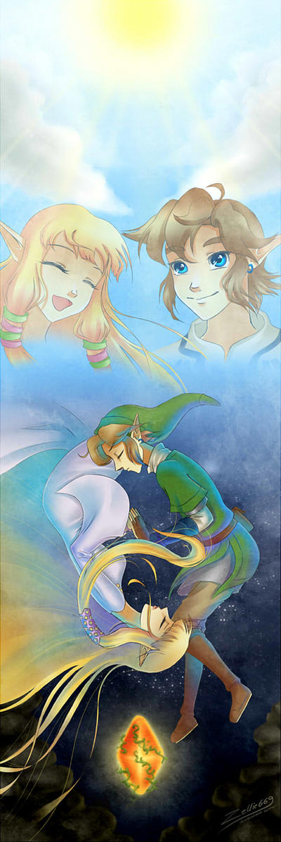 Skyward Sword: Wake me up, Sleepyhead by Zelbunnii