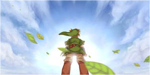 Skyward Sword: The sea of clouds