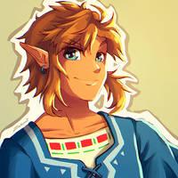 Wii U Link (Breath of the Wild) by Zelbunnii
