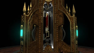 Adeptus Mechanicus Chamber with Chainsword