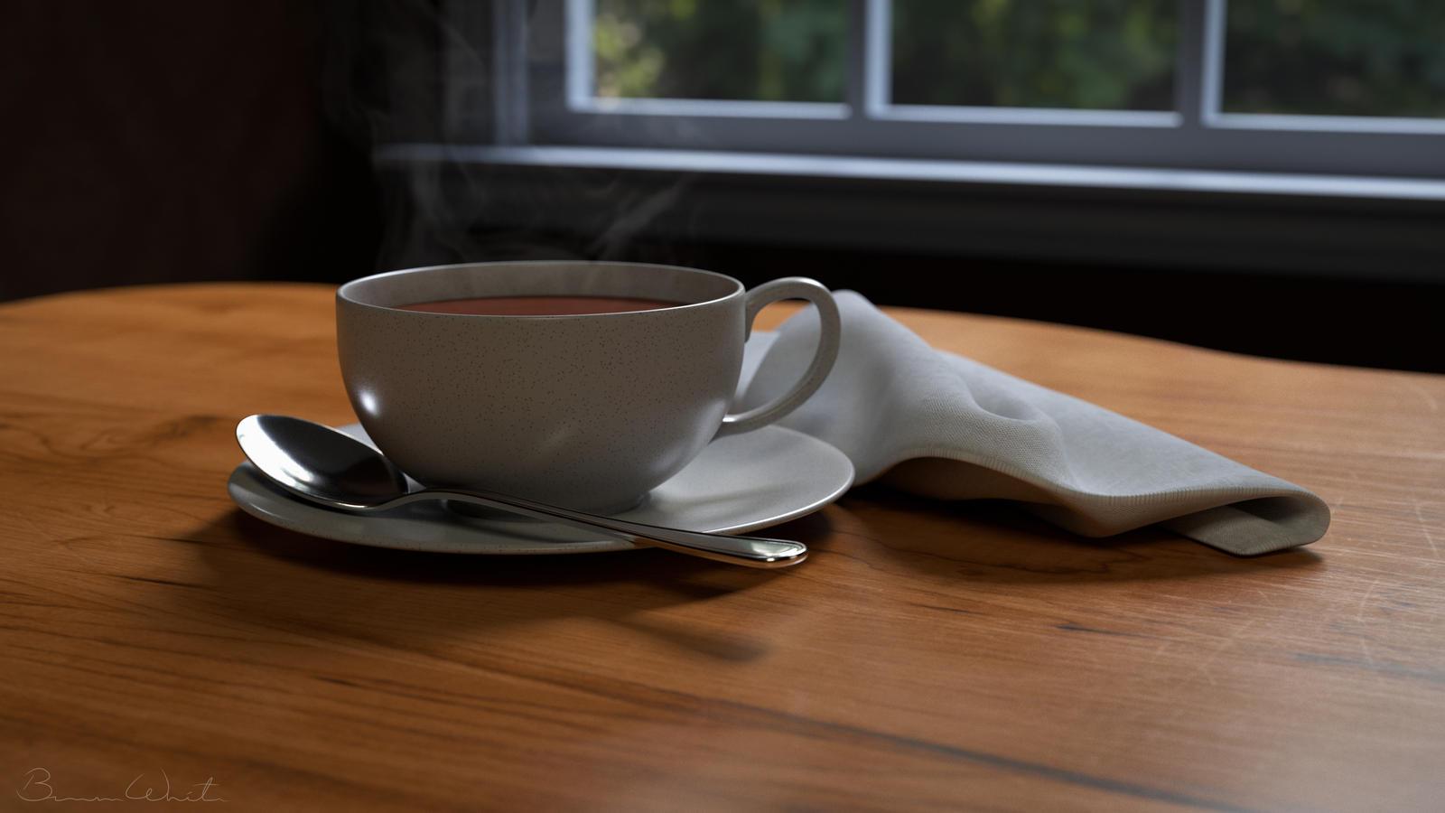 Teacup Still Life by polygonbronson