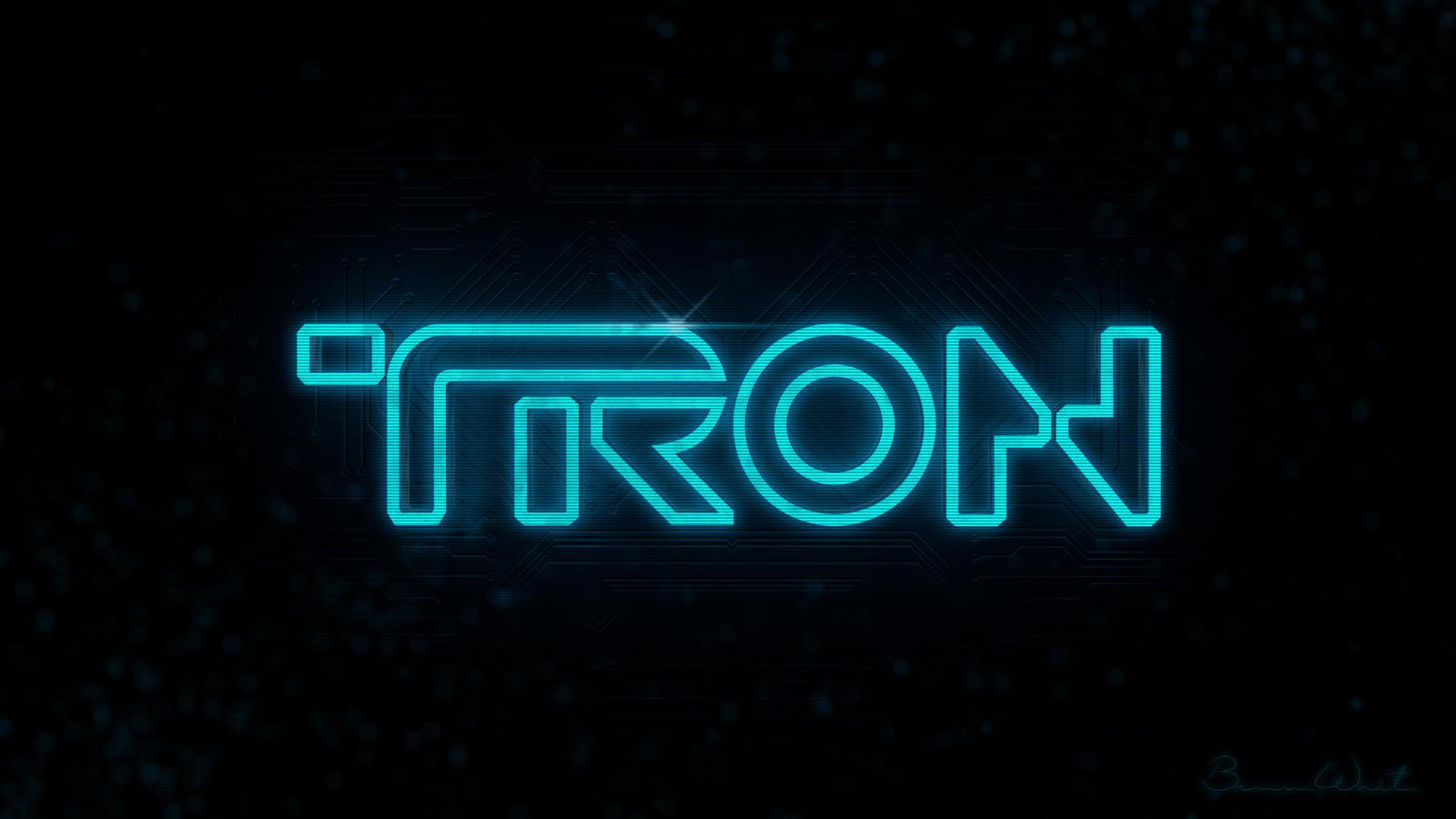 TRON Logo Alpha
