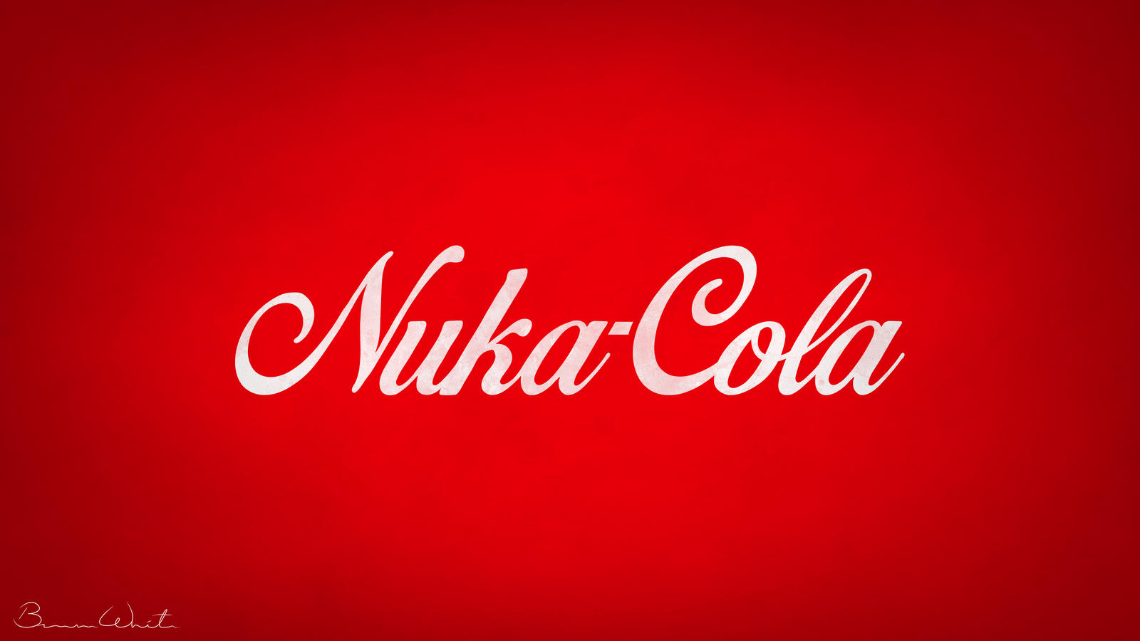 Nuka Cola Logo Redesign Wallpaper By Polygonbronson On Deviantart