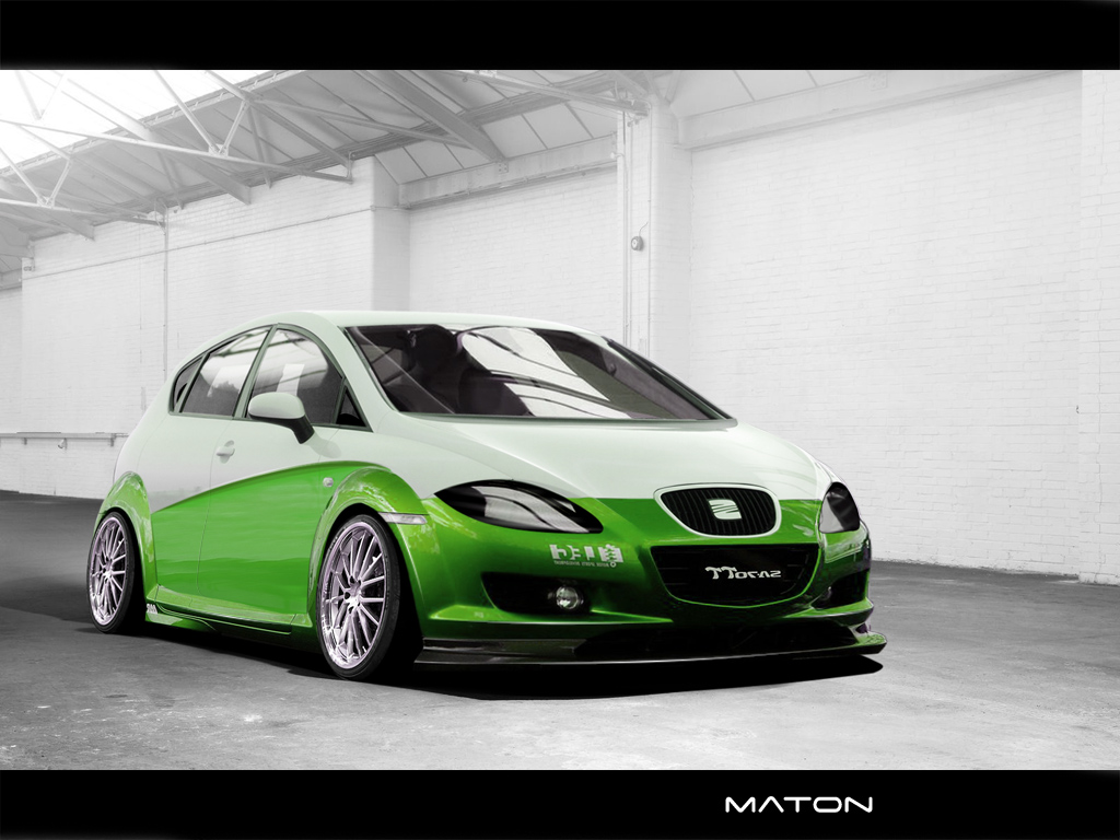 seat leon tuning by matonus on deviantart. Black Bedroom Furniture Sets. Home Design Ideas
