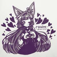 .: [OC] Umereii :. by Mekaiime