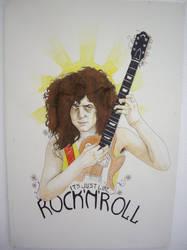 Marc Bolan by PsychosisSafari