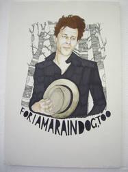 Tom Waits by PsychosisSafari