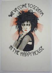 Siouxsie Sioux by PsychosisSafari