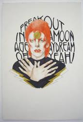 David Bowie by PsychosisSafari