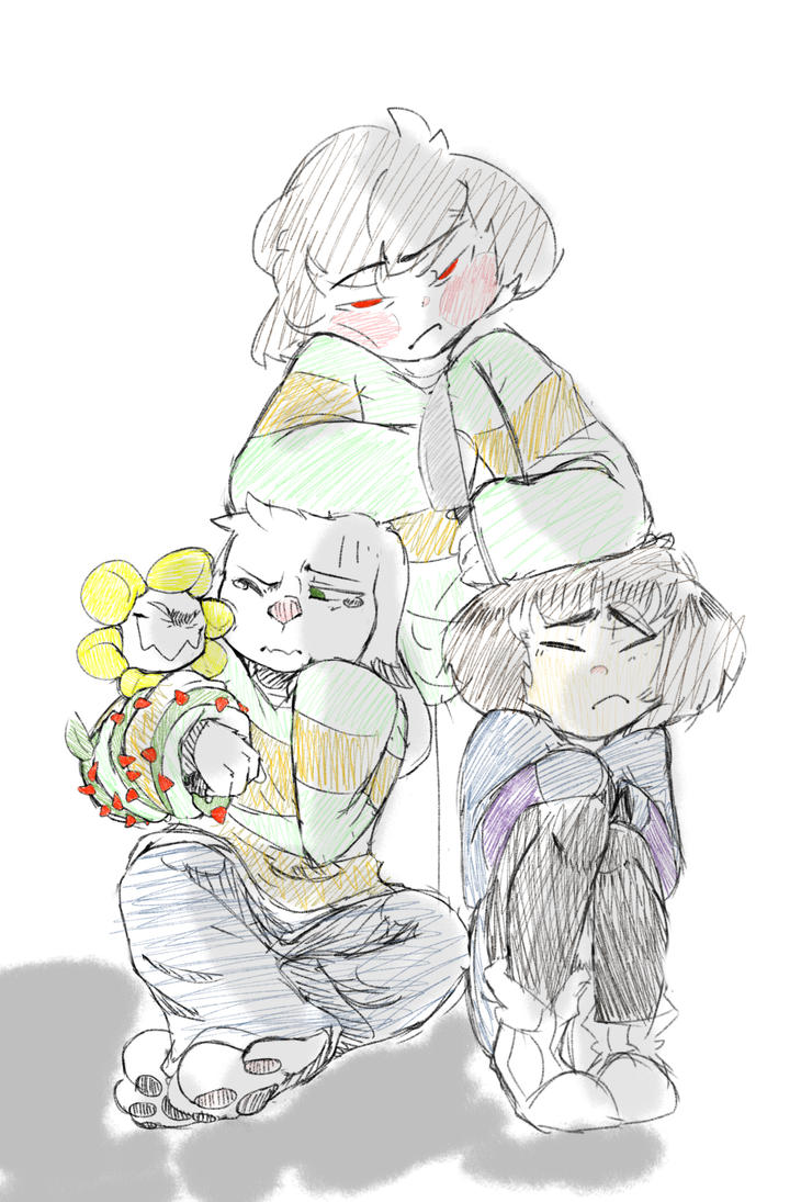 All the children by BananaConductor