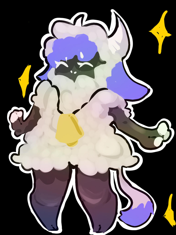 A sheep...Probably by BananaConductor