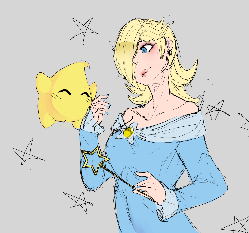 Rosalina/Luma by BananaConductor