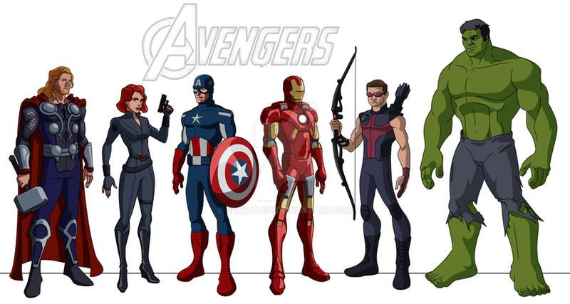Avengers cartoon