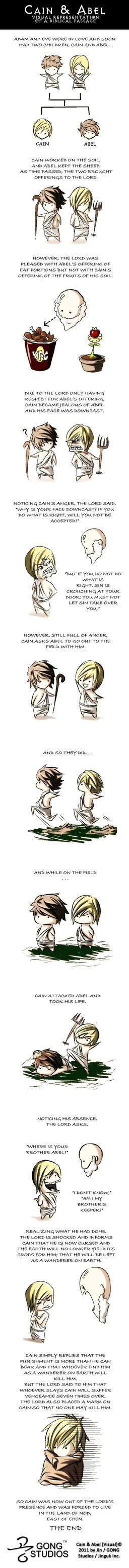 cain and abel comic by jinbae on deviantart