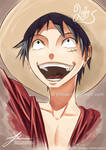 Luffy: Painting