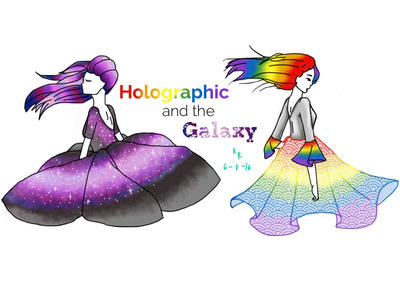 Holographic and Galaxy. by icellathegolden