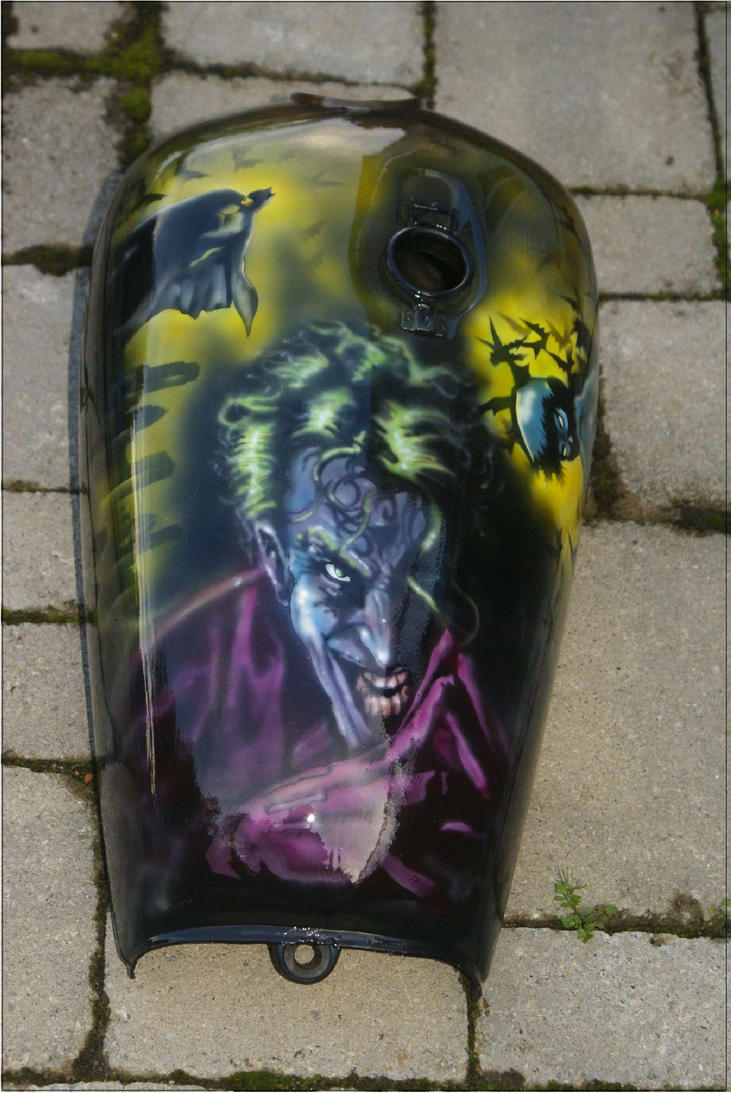 Airbrush Joker Wallpaper: 'Joker' Tank Airbrush Work 2012 By Mstp On DeviantArt